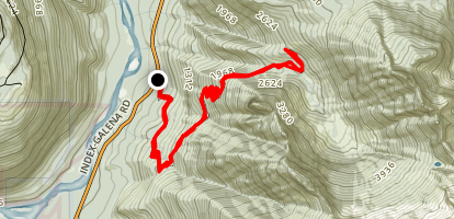 Road 6310: Jumpoff Ridge Trail Map
