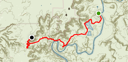 Potash Road and South Fork Road ATV Trail Map