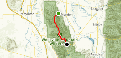 Wellsville Utah Map.Wellsville Mountains Utah Alltrails
