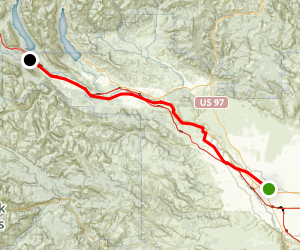 John Wayne Pioneer Trail: Ellensburg to Lake Easton Map
