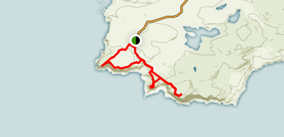 Mull of Oa, American Monument and Beinn Mhor Loop Map