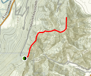 Mountain Home Ridge Map