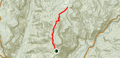 Spencer Butte Trail Map