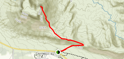 Parriott Mesa Trail Map