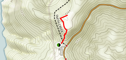 Windy Ridge Trail Map