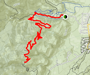 Ash Canyon to Kings Canyon Trail Map