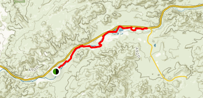 Mustang Ranch Trail Map