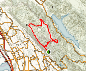 Havey Canyon Loop Map