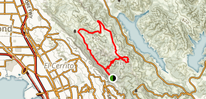 Havey Canyon Loop Trail Map