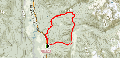 Onahu Trail Map