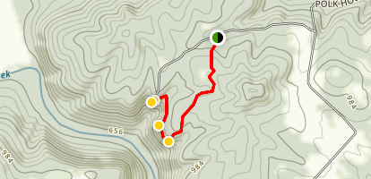 South Point Lookout Trail  Map