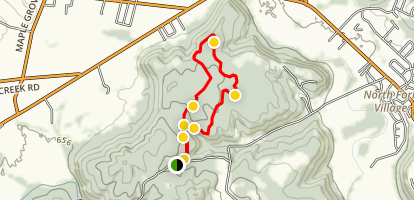 Hoggard Trail Map