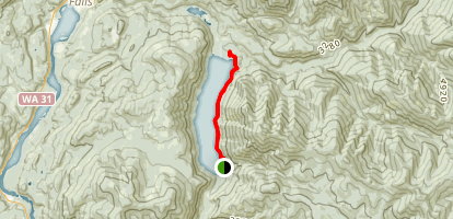 Sullivan Lake [CLOSED] Map