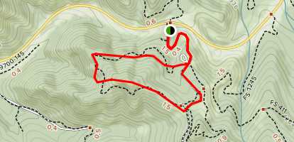 Swauk Forest Discovery Trail Map