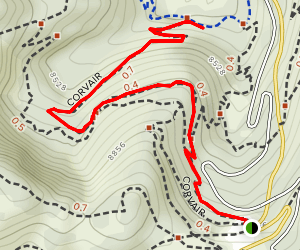 Corvair Trail Map