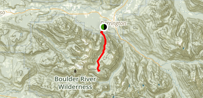 Squire Creek Trail Map