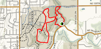 Cougar Trails Loop Map
