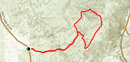 Jumbo Grade Trail Map