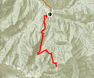 Windy Pass Via Great Western Trail Map