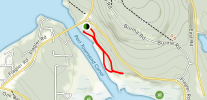 South Indian Island Trail Map