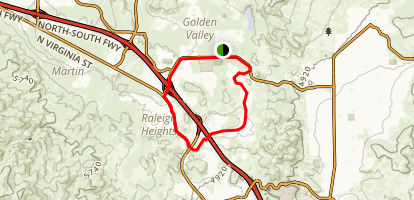 Valley Loop Map