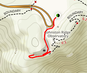 Johnston Ridge Observatory Walk Map