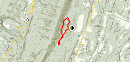Central Trail Map