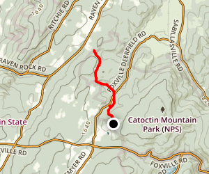Catoctin Mountain Park Campground Map