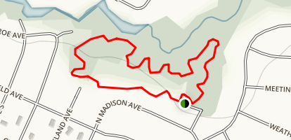 Cherry Valley Trail Map