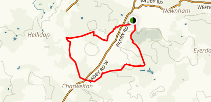 Badby to Charwelton Loop Map