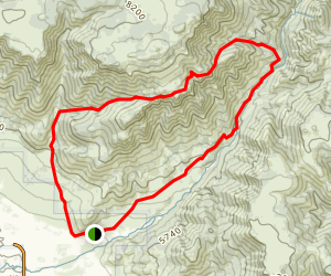 Geertson & Shupe Canyon Trail Map