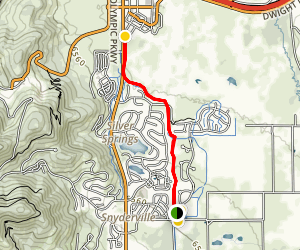 East 224 Connector Trail Map