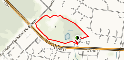 Halyburton Park Loop Map