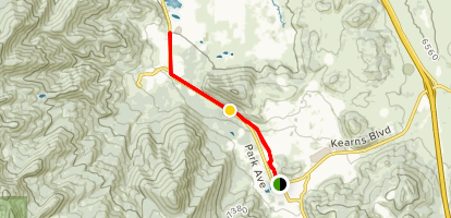 Olympic Parkway Trail Map