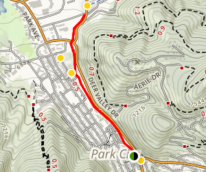 Poison Creek Trail Map