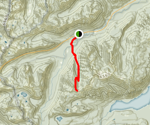 Mesatchee Creek Trail Map