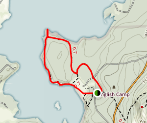 Bell Point Loop Trail Map