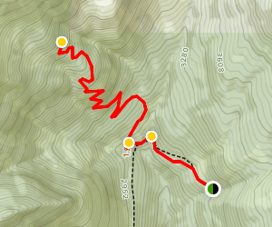 Purcell Mountain Trail Map