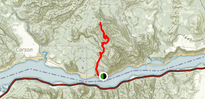 Augspurger Mountain Trail Map