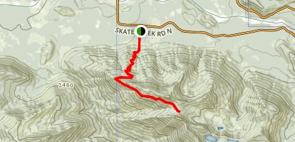 Osborne Mountain Trail Map