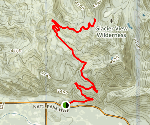 Copper Creek Road Trail Map