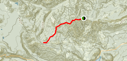 Burnt Mountain and Ironestone Mountain Trail Map