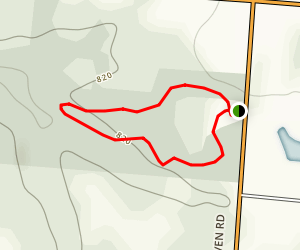 Whitacre Park Loop Trail Map