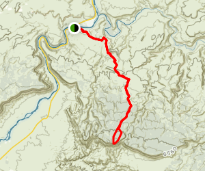 Top of the World Trail Map