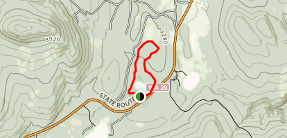 Frater Lake Trail Map