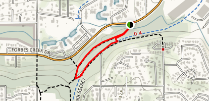 Forbes Valley Trail Map