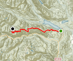 Nason Ridge Trail Map