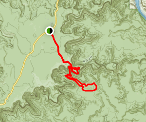 Lathrop Canyon Trail Map