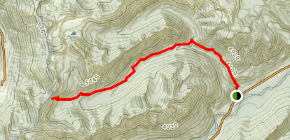 Union Creek Trail Map