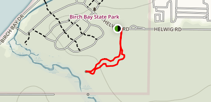 Terrell Marsh Trail Map